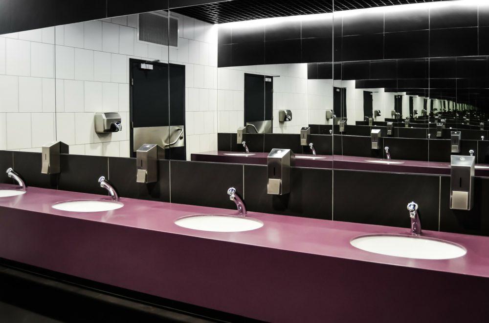 トイレの個室で1分休憩